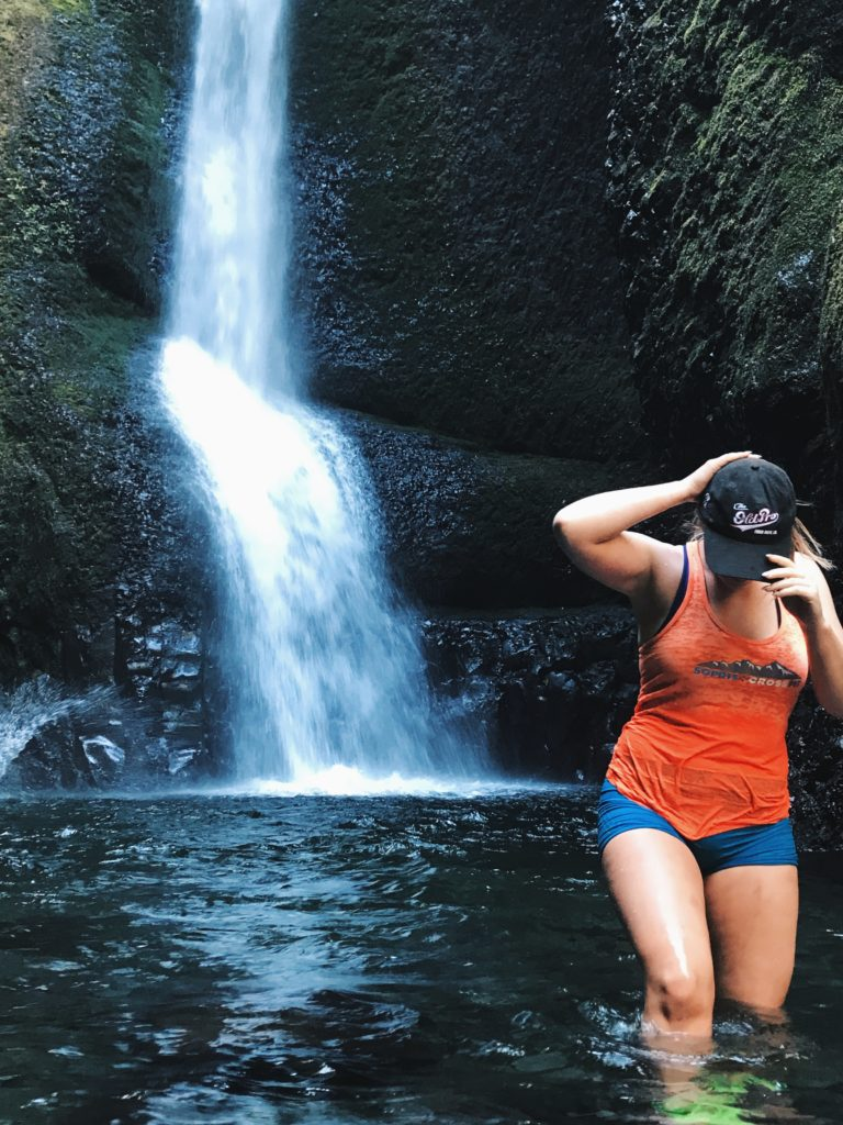 hot weather hikes around portland