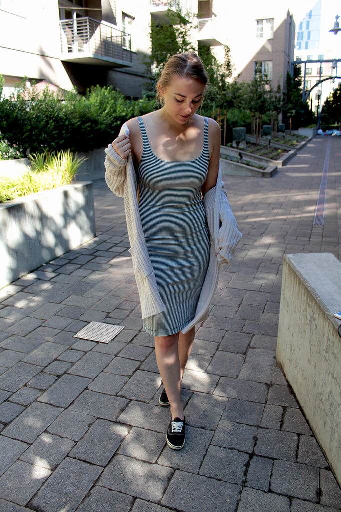 how to style a bodycon dress