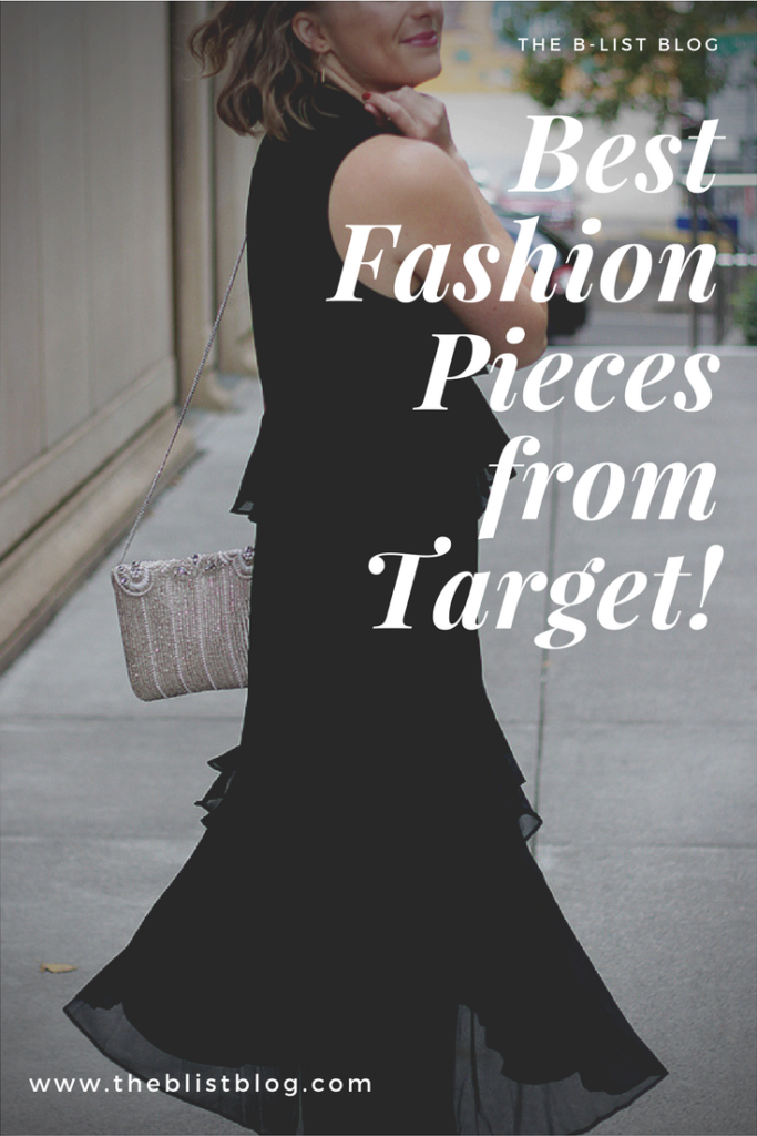 The B List Blog Tiered Ruffle Dress Best Target Fashion Pieces